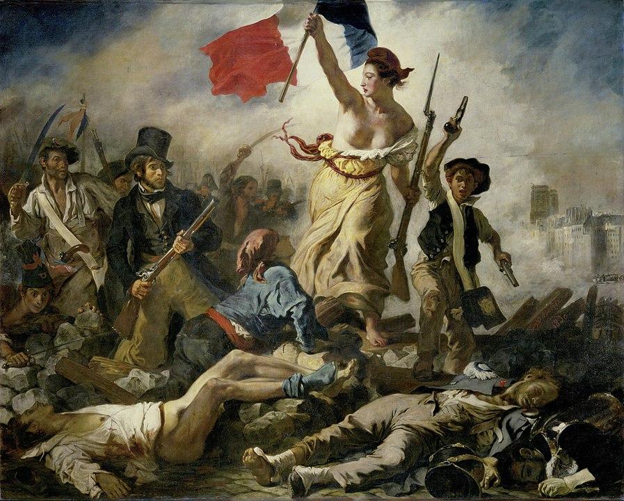 L'attribut alt de cette image est vide, son nom de fichier est 897px-Eugene_Delacroix_-_Le_28_Juillet._La_Liberte_guidant_le_peuple.jpg.